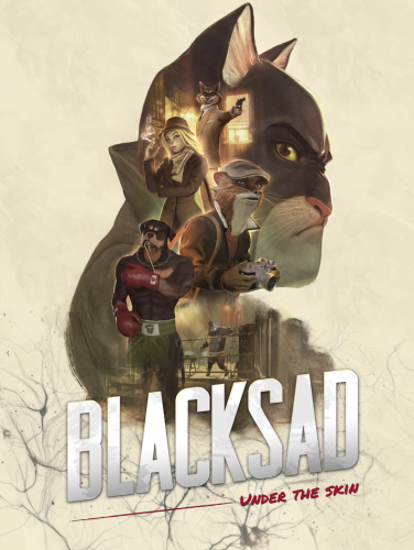 Blacksad: Under the Skin (2019)